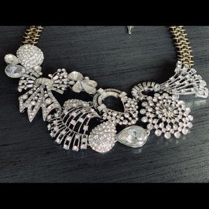 Deco Collage Statement Necklace